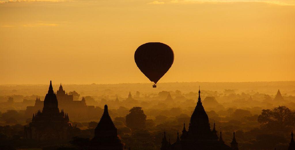 e proseguendo per la suggestiva Bagan