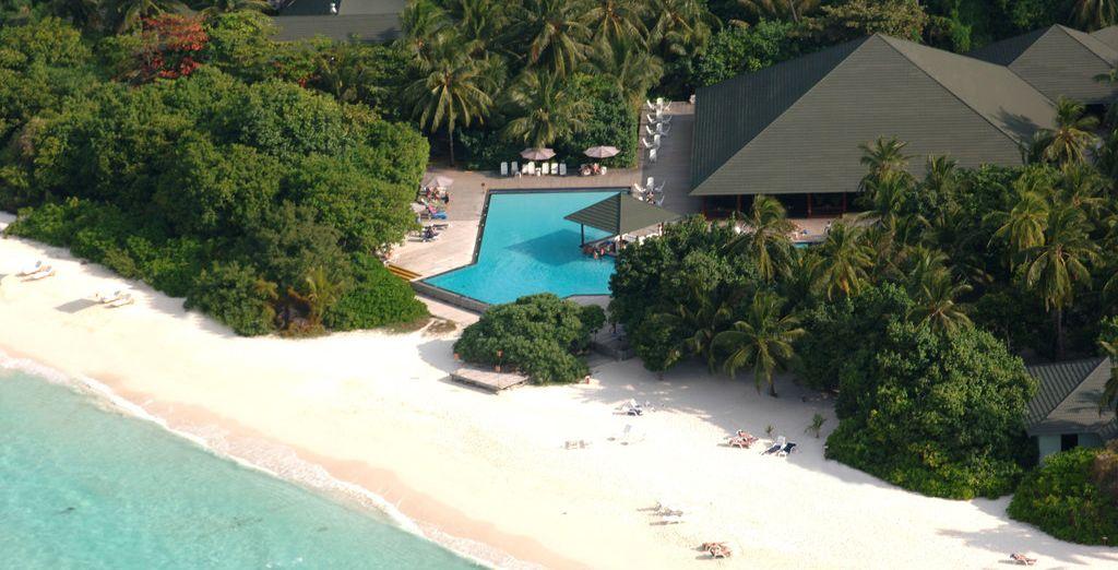 L'Adaaran Select Meedhupparu, resort 4* vi aspetta