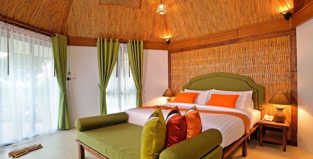 nella quale dormirete in splendidi Deluxe Cottage