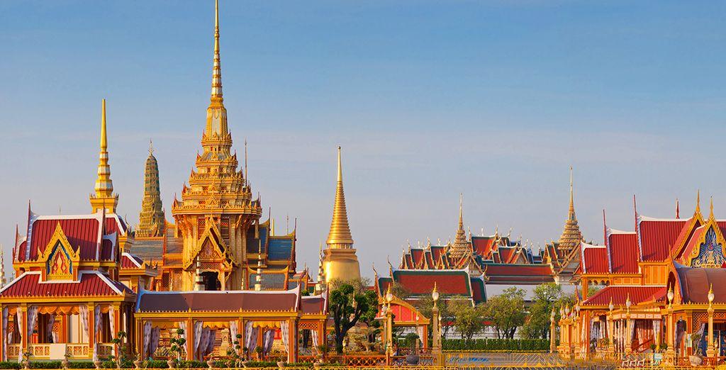 Visiterete le più affascinanti attrazioni di Bangkok