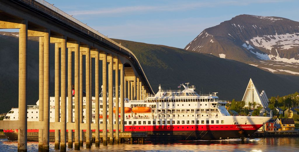 Una delle più belle località del nord della Norvegia