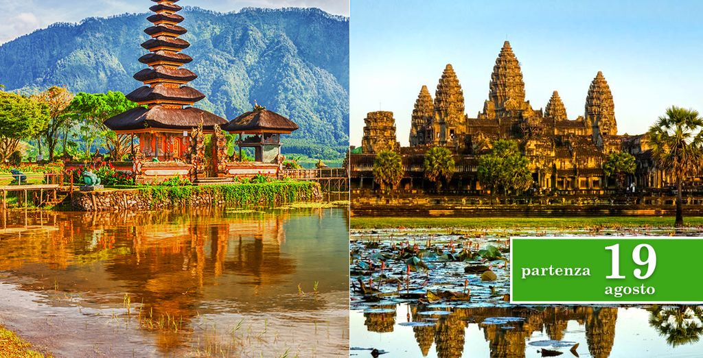 Partite per un tour esclusivo della Cambogia e dell'Isola di Bali