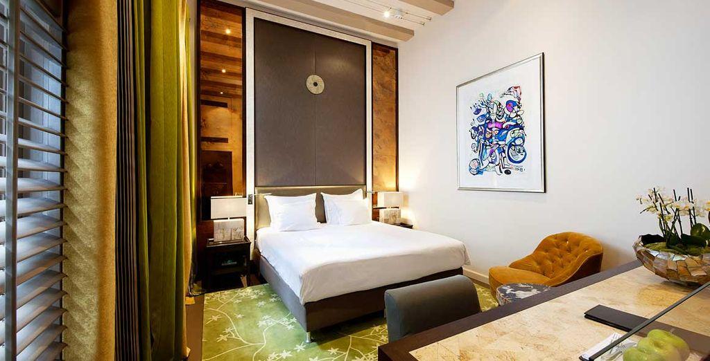 Scoprite il lusso delle Camere Luxury o Luxury Duplex