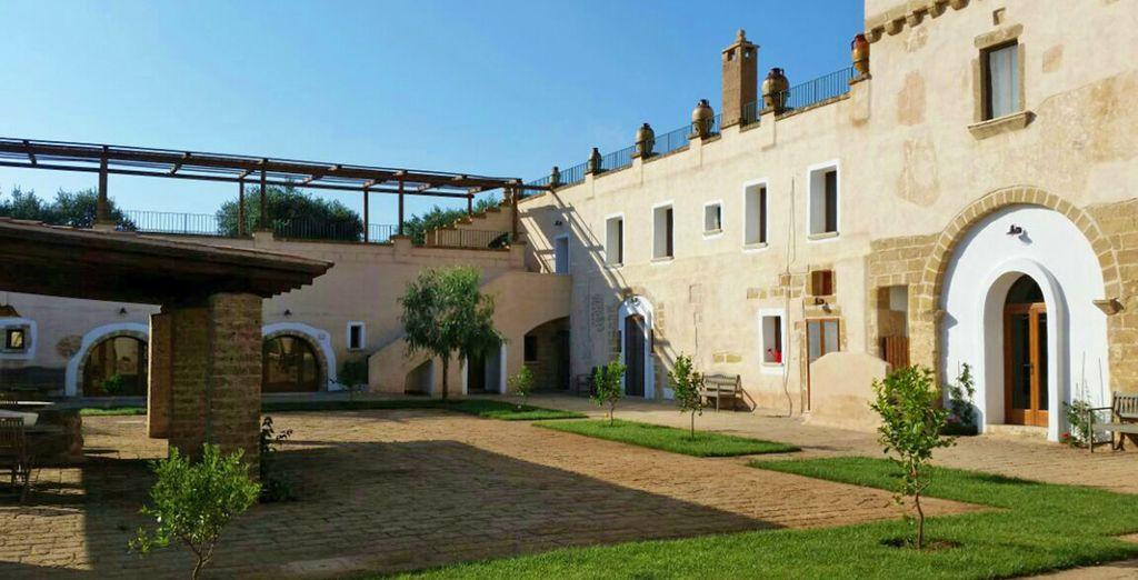 Una location esclusiva nel cuore della Puglia