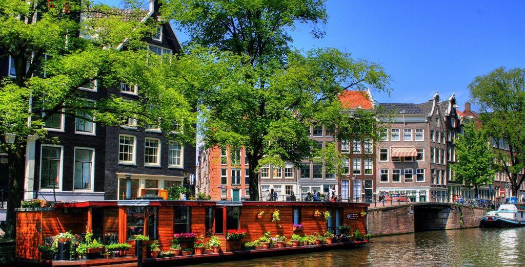 nella città dei canali e dei fiori