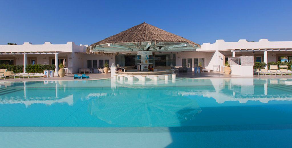 Per il vostro benessere rilassatevi nella magnifica piscina