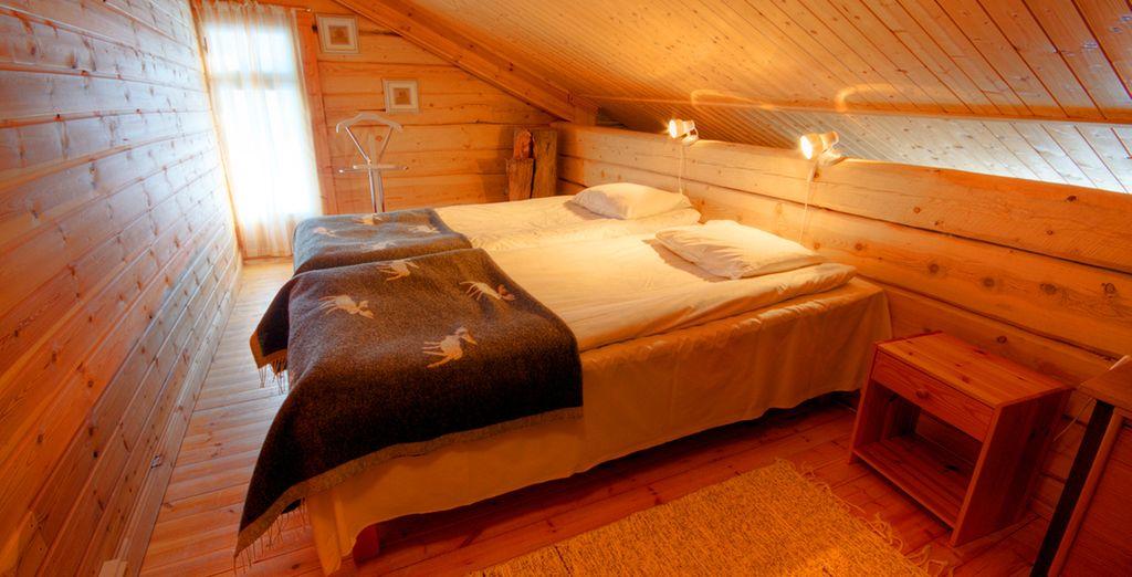le camere confortevoli