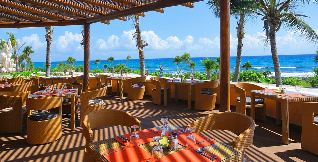 Il ristorante sulla spiaggia con vista mozzafiato