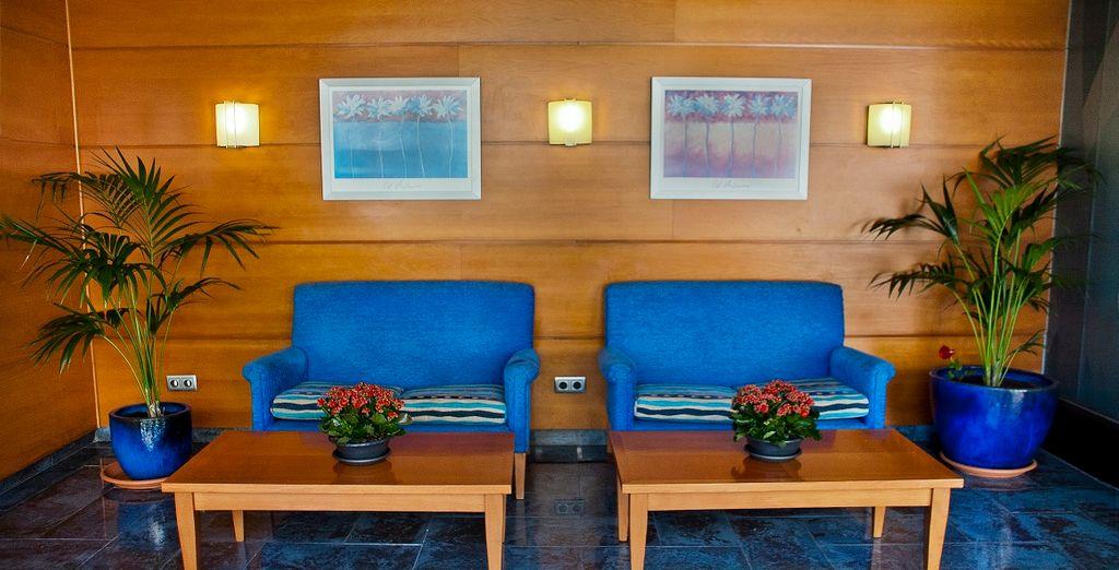 Un hotel dallo stile semplice e moderno