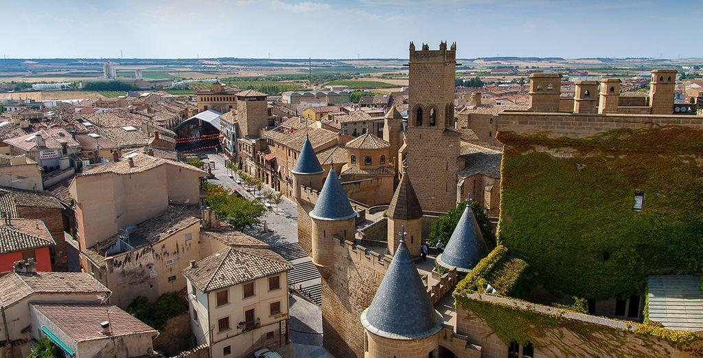 Il borgo medievale di Olite