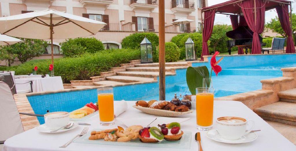 Gustare un'ottima colazione ogni mattina