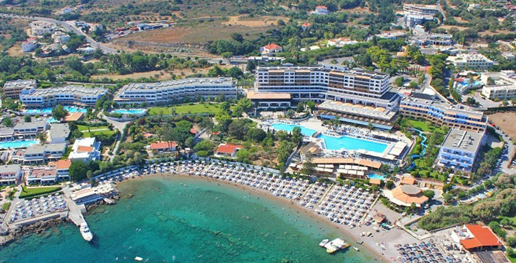 Soggiornerete in uno splendido Resort 4*