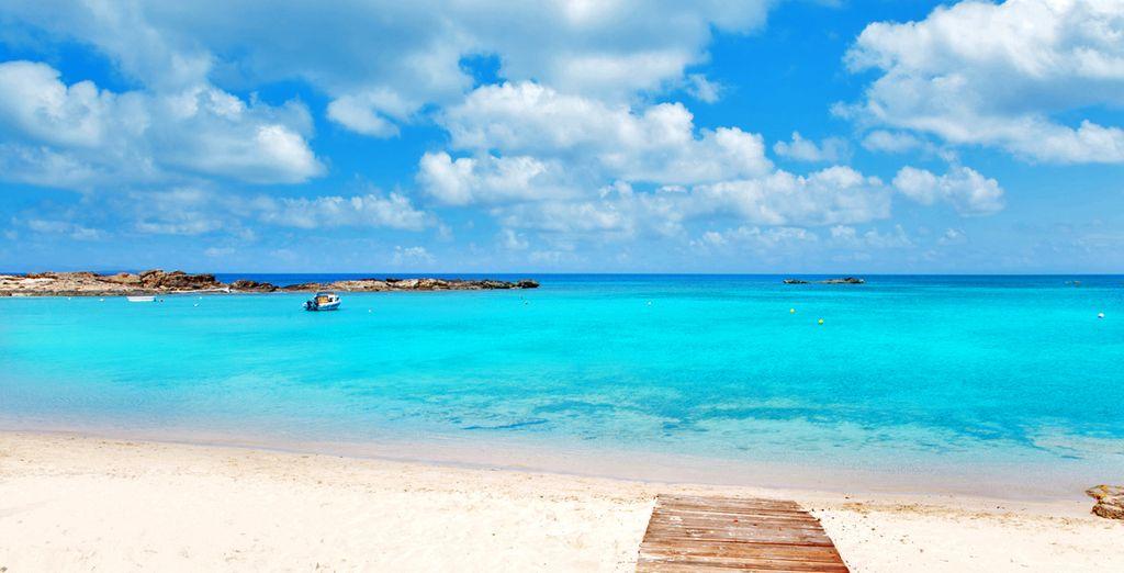 Formentera e le sue spiagge di sabbia fine