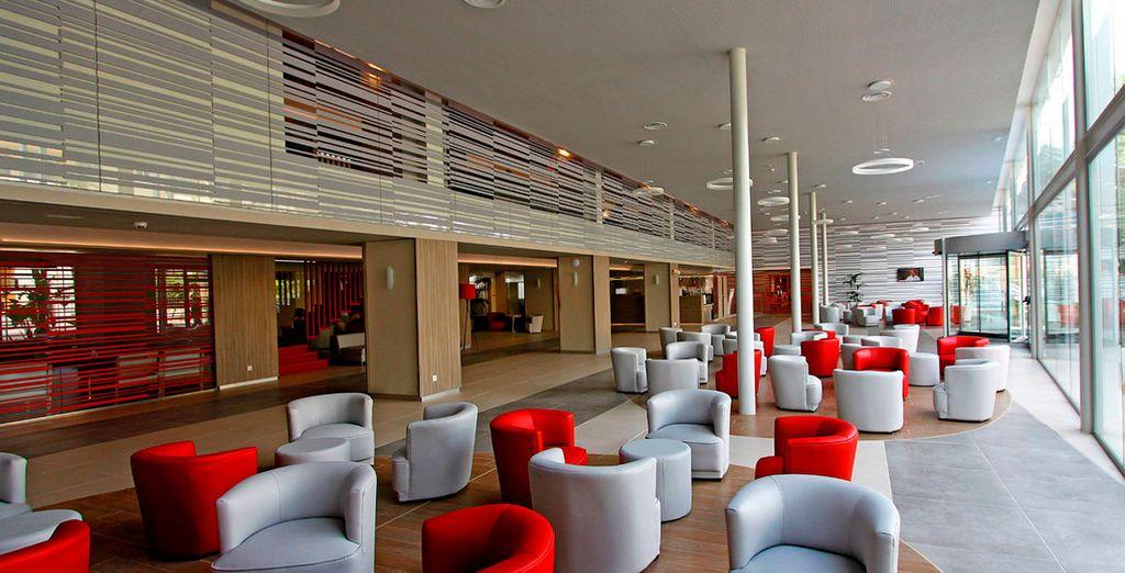 Il moderno Tonga Tower Design Hotel & Suites 4* vi attende