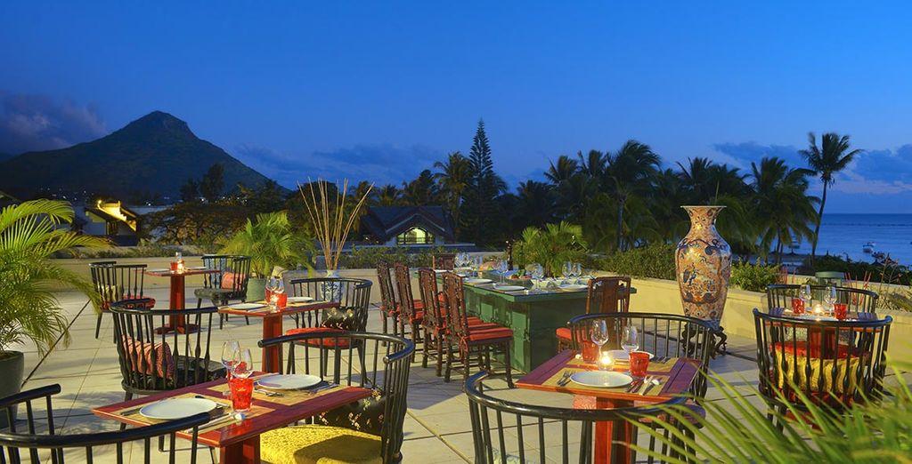Ammirate il panorama dalla terrazza del Ming Court Restaurant