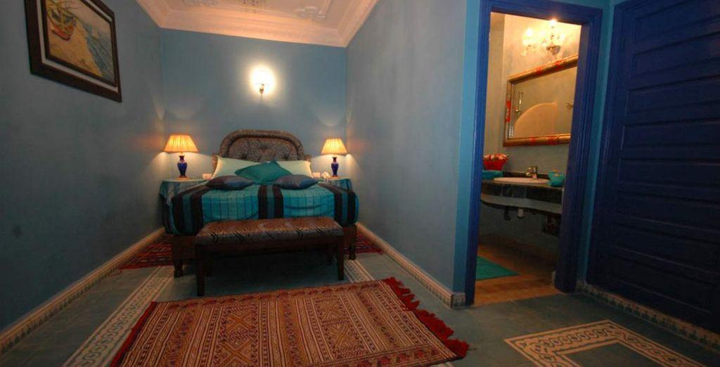 o ancora l'incantevole camera Jasmine...