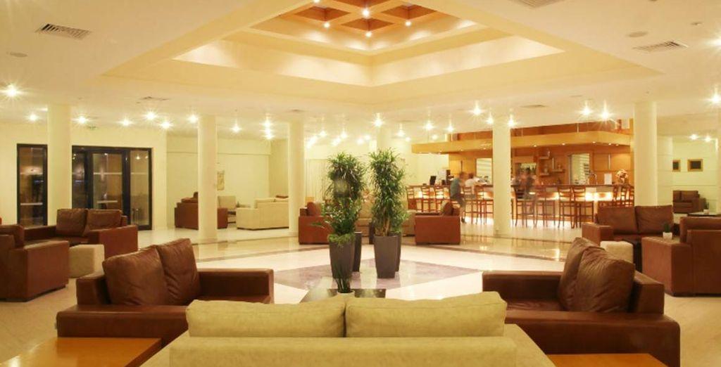 Un hotel dall'ambiente elegante