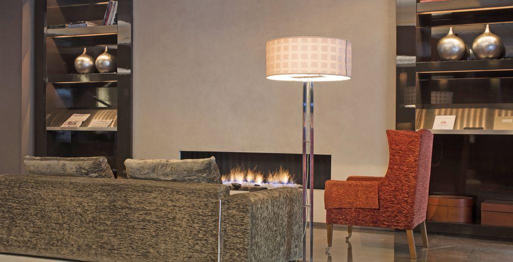 Rilassatevi presso la splendida lounge dell'hotel