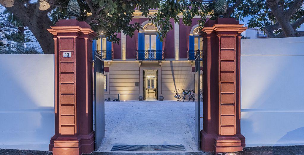 L' Hotel Giardini Mon Plaisir è pronto a darvi il benvenuto