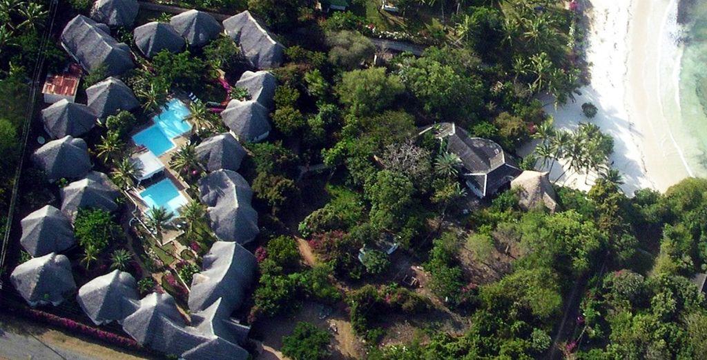 Ammirate il vostro resort affacciato sulla spiaggia
