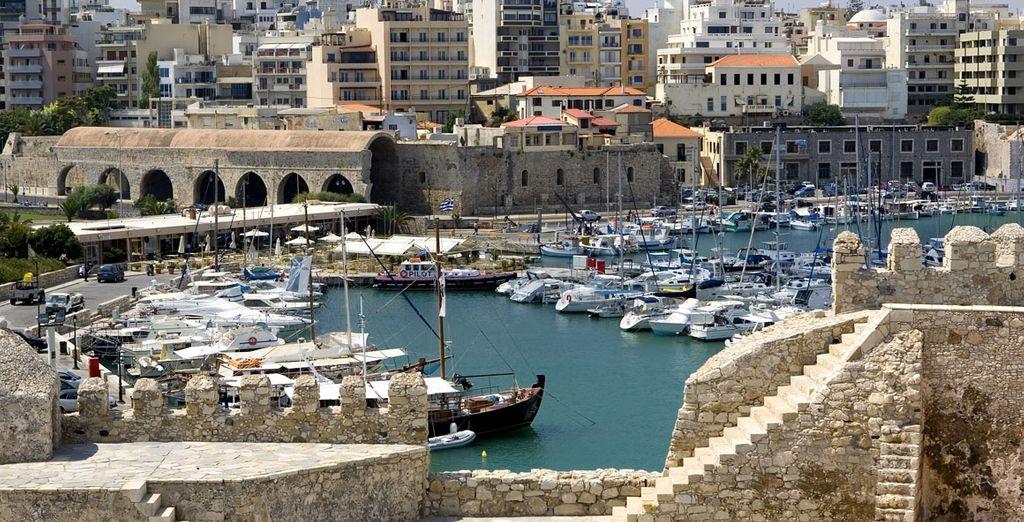 antiche città come Heraklion