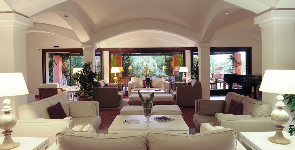 Un elegante e accogliente hotel 4*