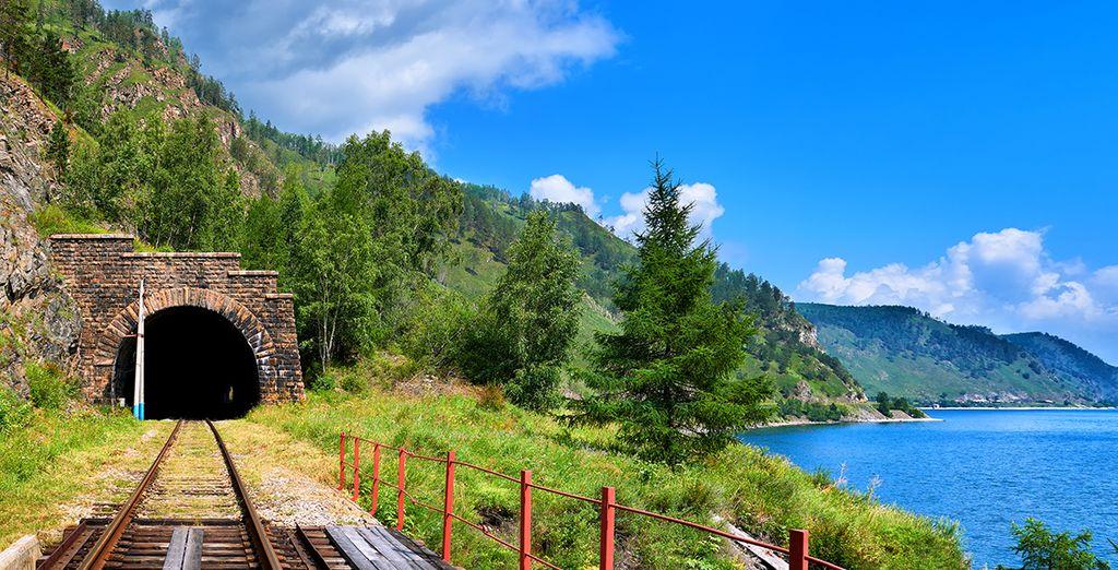 Viaggerete attraverso bellissimi paesaggi