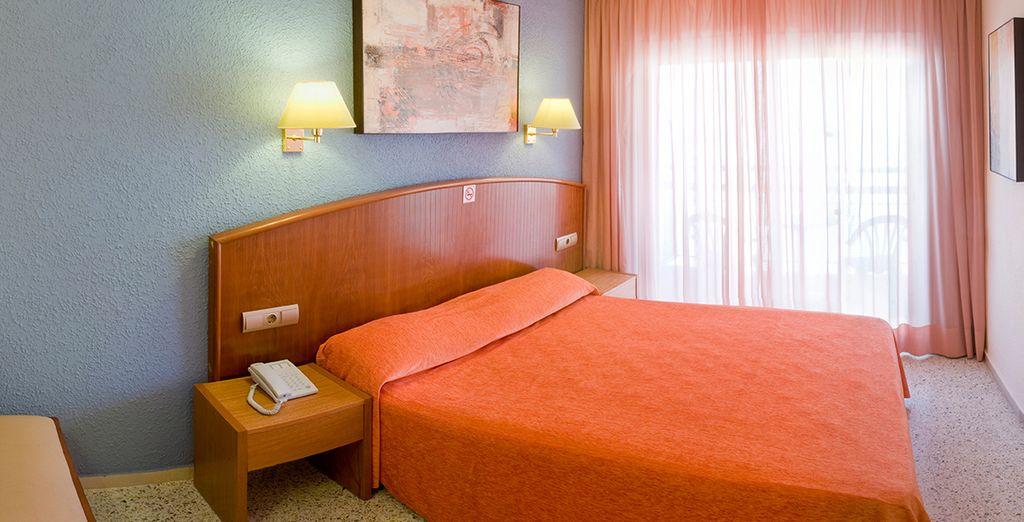 Per voi abbiamo riservato una sistemazione nelle confortevoli camere Standard