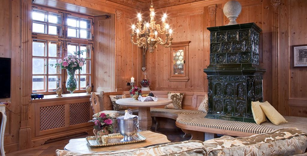 Sono le sistemazioni più spaziose e lussuose del castello