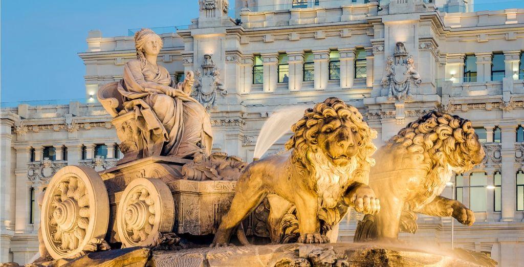 Prima tappa sarà la splendida capitale Madrid