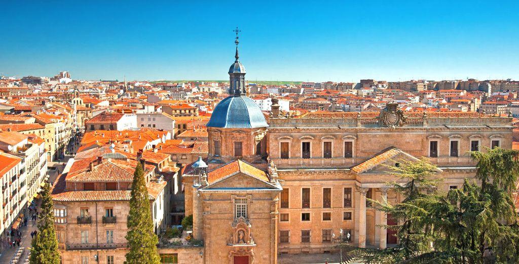 E' la volta di Salamanca, una delle città più incantevoli della Spagna