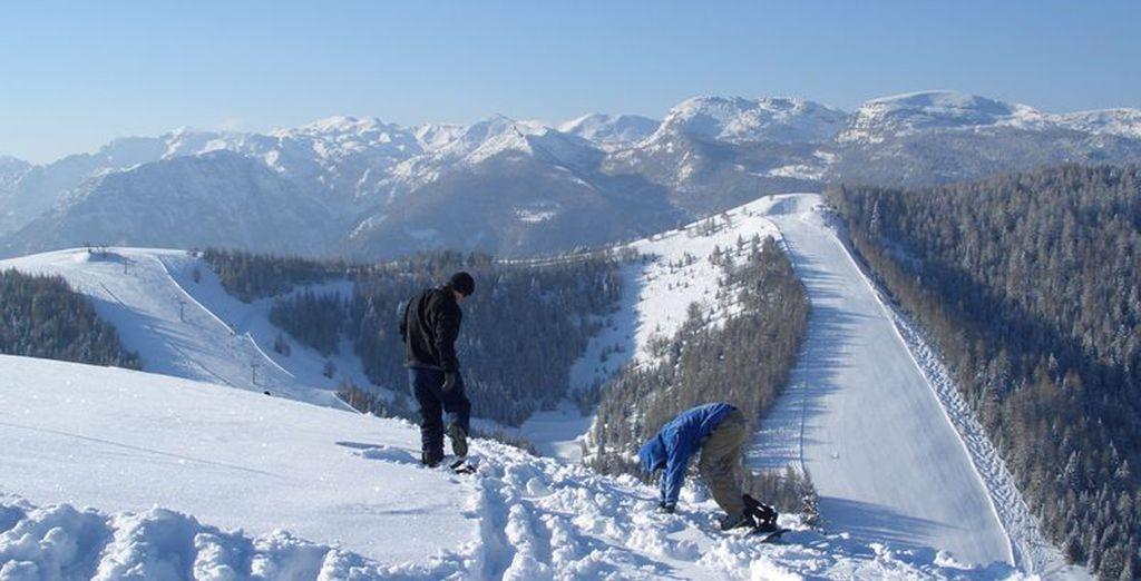 Ottime piste da sci per gli appassionati e non solo
