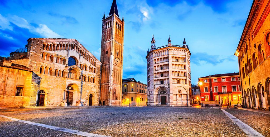 Pronti per un soggiorno a 4* alle porte di Parma?