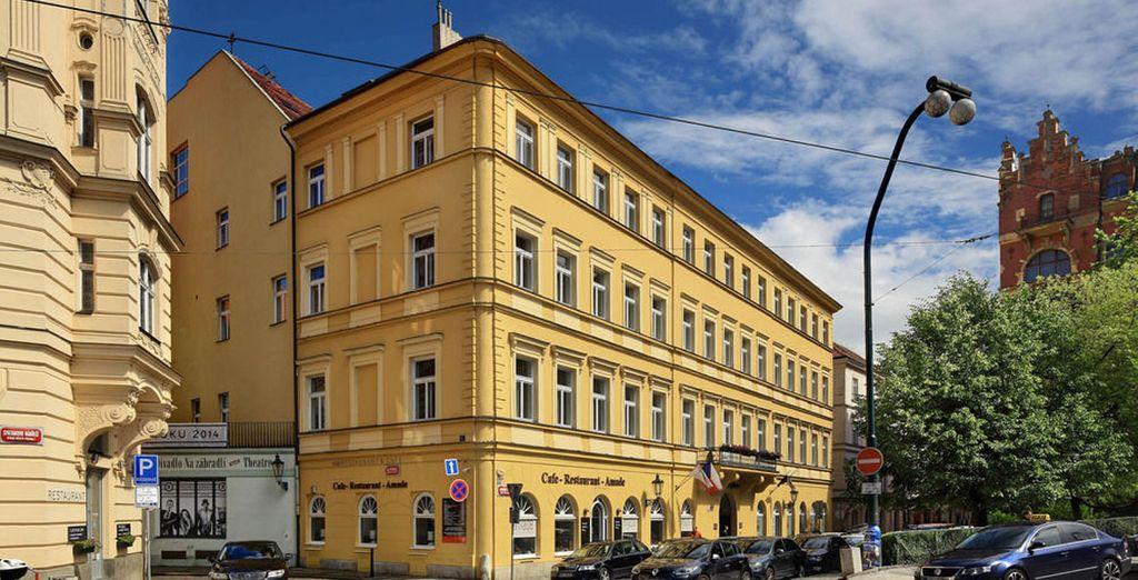 Lo Smetana Hotel 5* è un Hotel storico del centro