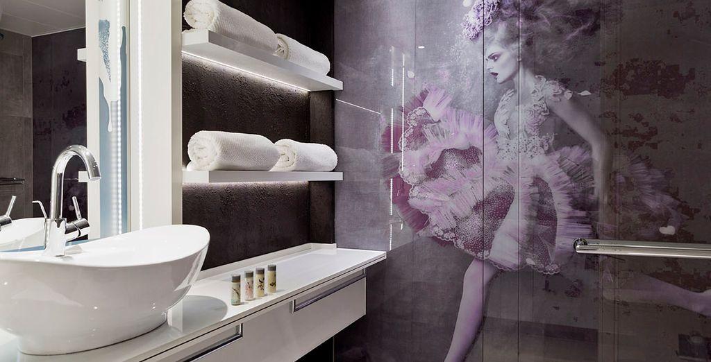 Lasciatevi affascinare dallo stile moderno ed originale dell'hotel