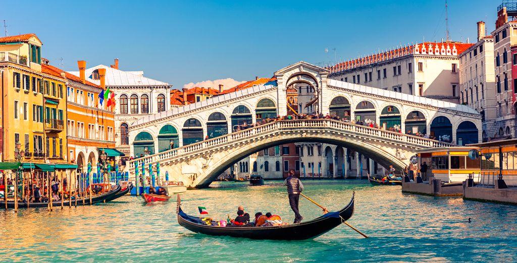 la magia di Venezia vi conquisterà