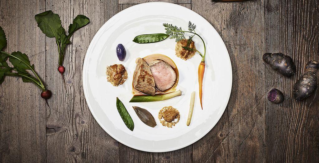 Lo chef Edoardo Fumagalli è un astro nascente della cucina internazionale, un vero artista del gusto