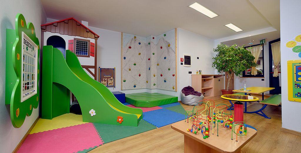 L'hotel garantisce relax e divertimento per tutta la famiglia
