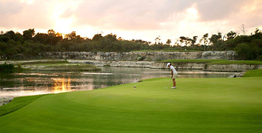 Presso l'hotel sarà possibile svolgere diverse discipline sportive, come il golf