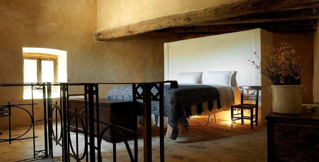 Soggiornerete in ampie camere classic arredate in stile