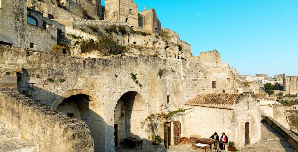Dove soggiornerete nella parte più antica dei Sassi