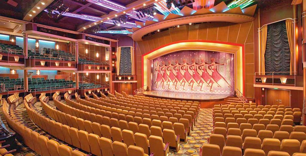 e godervi magiche serate presso il favoloso teatro su 3 livelli con spettacoli stile Broadway
