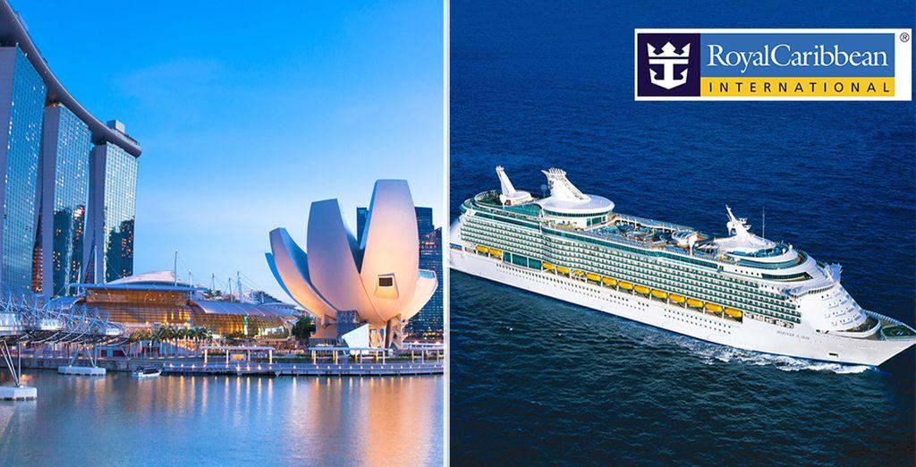 Partite per un soggiorno a Singapore per poi imbarcarvi per una crociera alla scoperta della Malesia