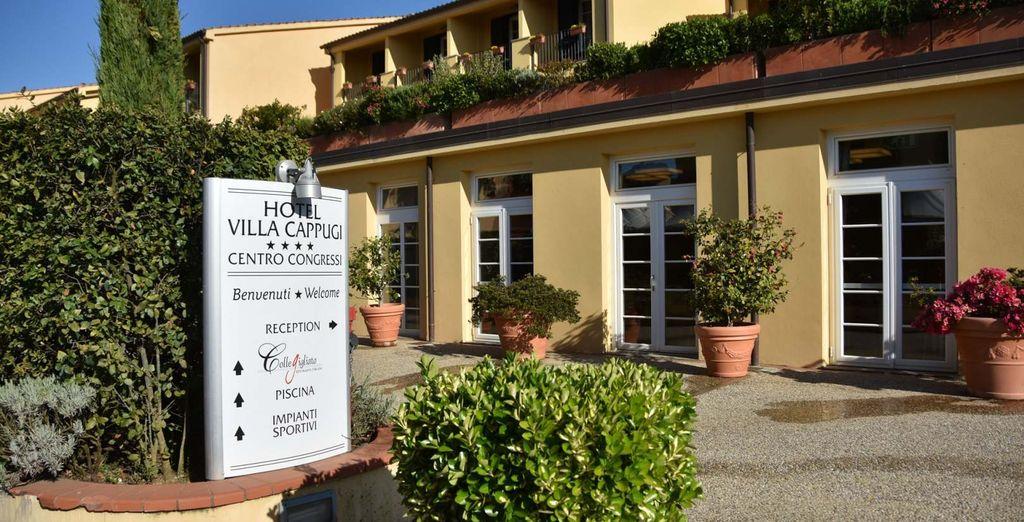 L'Hotel Villa Cappugi 4* vi sta aspettando