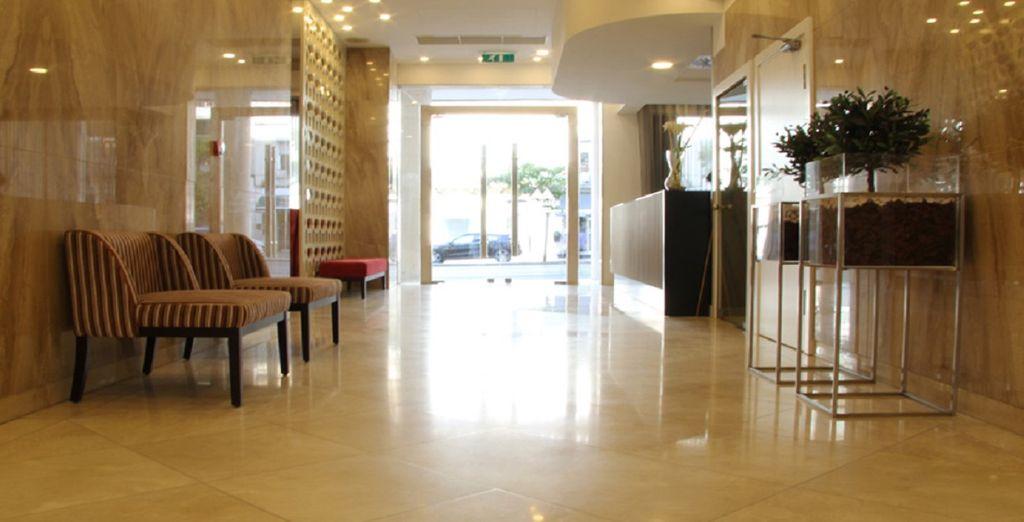 Il Masa Hotel Almirante è pronto ad accogliervi