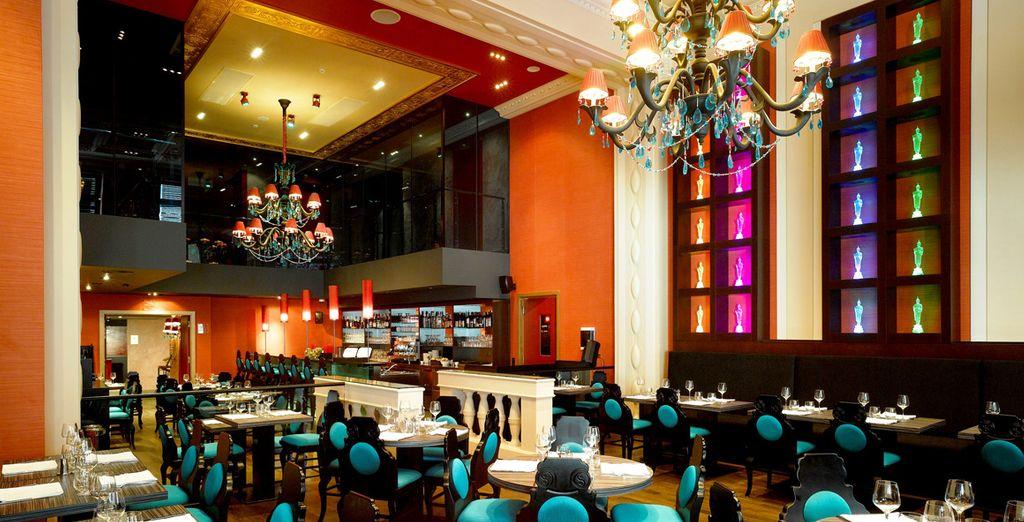 Il Siddartha Cafè possiede un arredamento moderno ed originale