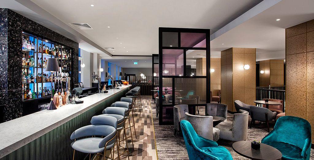 al bar vi potrete rilassare godendovi l'atmosfera