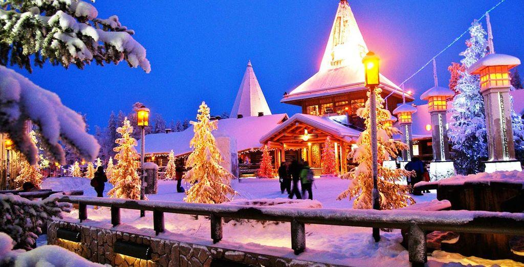 Potrete effettuare diverse escursioni nei dintorni di Rovaniemi