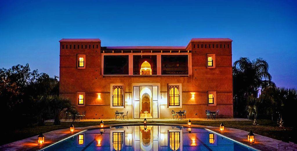 Vi attende un soggiorno da mille e una notte in Marocco, al Terra Mia