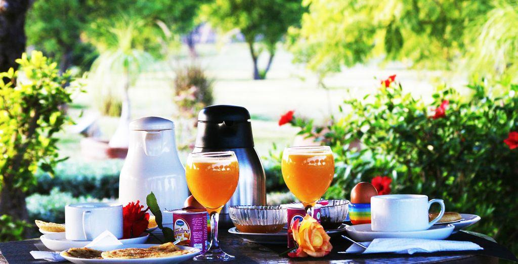 le vostre giornate inizieranno con ottime colazioni